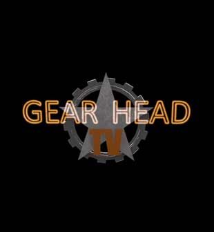 Frame shot of Gear Head TV's logo